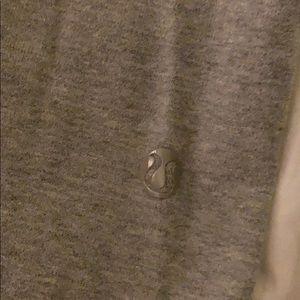 lululemon athletica Pants - Lululemon Crop Grey Cotton Capri